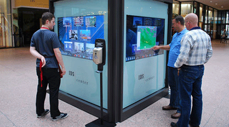 indoor interactive kiosks