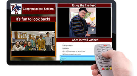 interactive tv with remote